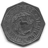 *notgeld Schneidemuhl 10 Pfennig 1916. Zn  480.2a - [ 2] 1871-1918 : Empire Allemand