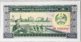 Billete Laos. 100 Kip. Sin Circular - Laos