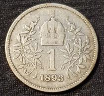 Austria 1 Corona 1893 - Austria