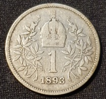 Austria 1 Corona 1893 - Oostenrijk