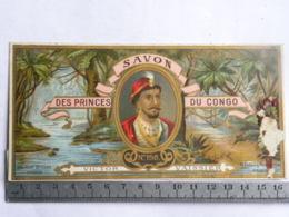 Etiquette SAVON Des Princes Du Congo - N°198 - Victor Vaissier - Paris - Labels