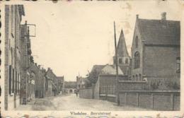 Vladslo Beerststraat  ( Kaart Verstuurd In 1954) - België