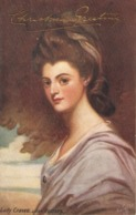 """""""Lady Graven, After Romney"""" Tuck Oilette National Gallery Series PC # 2778 - Tuck, Raphael"""