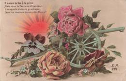 Militaire Guerre 1914 1918 Canon Tu Fus à La Peine Mais Nous Te Verrons à L' Honneur Lorsque La Victoire Prochaine - Guerre 1914-18