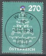 """Österreich 2019: """"Weihnachten-Baum Mit Kristall""""   Gestempelt (s.Foto) - 1945-.... 2nd Republic"""