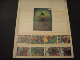 ANTIGUA - 2000 UCCELLI 8 VALORI + BF - NUOVI(++) - Antigua E Barbuda (1981-...)