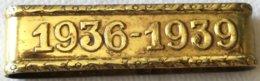 Placa Cordón Militar De Gala De La Victoria. Guerra Civil Española. 1936-1939. España. Para Alféreces Y Tenientes - Militares