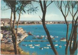 Z5098 Cagliari - Marina Piccola - Panorama - Barche Boats Bateaux / Viaggiata 1966 - Cagliari