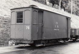 Salzwagen Trogen. Photo 12 X 8 Cm. No Postcard. - AR Appenzell Rhodes-Extérieures