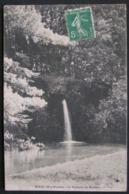 CPA - NIEUL - LA CASCADE DU CHATEAU - DATEE 1913 - Nieul