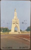 Telefonkarte Mali - Denkmal - 20 Units - Mali