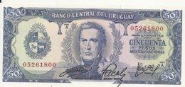URUGUAY 50 PESOS ND1967 UNC P 46 - Uruguay