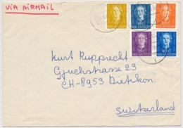 Niederländische Antillen - Brief Gelaufen In Die Schweiz / Ned Antillen - Letter Run To Switzerland - Antillen