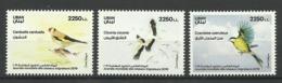 LEBANON  2019  BIRDS  SET  MNH - Uccelli