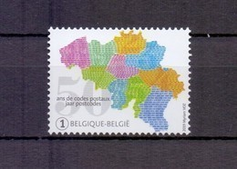 4857 Postcode Postfris** 2019 - Bélgica