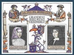 BF La Paix Des Dames - Grandes Heures De L'histoire (2019) Neuf** - Sheetlets