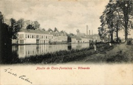 CPA - Belgique - Vilvoorde - Vilvorde - Moulin De Trois-Fontaines - Vilvoorde