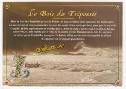 {80916} 29 Finistère , Tempête Dans La Baie Des Trépassés - Cléden-Cap-Sizun