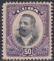 Cuba, Scott #245, Mint No Gum, Maj. Gen. Antonio Maceo, Issued 1910 - Unused Stamps