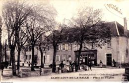 71 : Saint Loup De La Salle : Place De L'église... Ronco - France