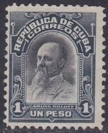 Cuba, Scott #246, Mint No Gum, Carlos Roloff, Issued 1910 - Kuba