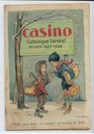 TRES RARE CATALOGUE CASINO SAINT ETIENNE LOIRE 1927 1928 ILLUSTRATEUR POULBOT BE VOIR DETAILS - France