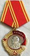 Medalla Orden De Lenin. 1930-1991. URSS. Rusia Comunista. - Rusia