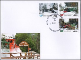 ARGENTINA/STAMPS, 2019 - USHUAIA-THE TRAIN OF THE END OF THE WORLD-FDC - Trains
