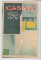 TRES RARE CATALOGUE CASINO SAINT ETIENNE LOIRE 1929 1930 ILLUSTRATEUR JOSEPH ROUX BE VOIR DETAILS - France