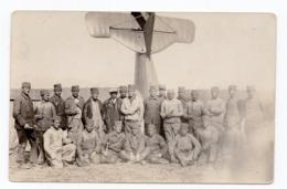 WWI SERBIA, SERBIAN ARMY IN GREECE, AEROPLANE, ILLUSTRATED POSTCARD, MINT - Serbia