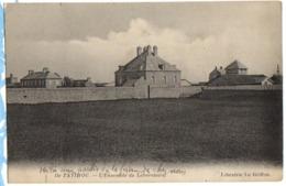 1915 TATIHOU - SAINT VAAST - Carte Sur L'Ensemble Du LABORATOIRE / FERME - Saint Vaast La Hougue