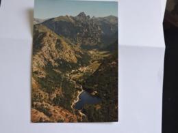 AX LES THERMES - Le Lac D'Orgeix Vu Du Ciel  Ref 2684 - Ax Les Thermes