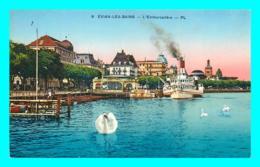A759 / 177 74 - EVIAN LES BAINS Embarcadere ( Bateau ) - Evian-les-Bains
