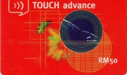MALASIA. TOUCH Advance RM 50. 50RM. MY-TOU-REF-0001. (005) - Malasia