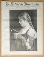 Le Soleil Du Dimanche 12/10/1890 Marguerite à L'église/Cléopâtre(de V. Sardou Et Sarah Bernhardt)/Louis Wain (chats) - 1850 - 1899