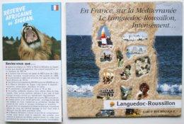 2 Documents Publicité (1984) -  LANGUEDOC ROUSSILLON - SIGEAN   ** /P109 - Folletos Turísticos