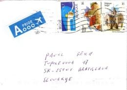 Belgie Cover, Nice Franking ... Ak561 - Belgium