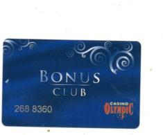 POLONIA KEY CASINO  OLIMPYC -     BEHIND DIFFERENT - Casino Cards