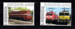 Trein, Train, Locomotive, Eisenbahn Nederland  Persoonlijke Zegel : NS2200 + DB BR 101 / NS1700 - Treni