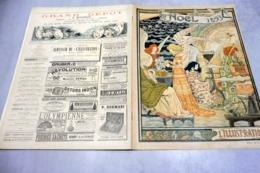L'ILLUSTRATION NOEL 2 DECEMBRE 1893-GRAVURES COULEURS-LA TRUFFE- REPORTAGES GASTRONOMIQUES-VIN DE CHAMPAGNE-FOIES GRAS - Revues Anciennes - Avant 1900