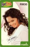 MALASIA. Lady. Hotlink Maxis. 30RM. MY-prepaid-063. (007) - Malasia
