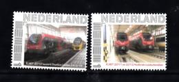 Trein, Train, Locomotive, Eisenbahn Nederland  Persoonlijke Zegel : R.Net Testrit Station Leiden + R.Net 2011 + 2012 - Treni