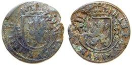 ESPANA - Philippe IV - 8 Maravedis 1626 Avec Contremarque De XII Maravedis (1642) - Monnaies Provinciales