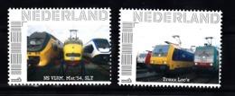 Trein, Train, Locomotive, Eisenbahn Nederland  Persoonlijke Zegel : NS Virm, Mat 54 , SLT + Traxx Loc's - Treni