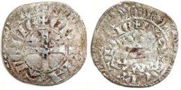 AQUITAINE - Édouard III D'Angleterre [1325-1362] - Blanc Au Léopard Sous Une Couronne, 2e Type (2,04 G) Rareté : R2 !! - 476-1789 Monnaies Seigneuriales