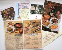 Publicités Sur Le FOIE GRAS - Elevage D'Oies - Gastronomie     ***  /P115 - Non Classés