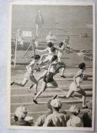 Foto Cromo Olimpiada De Los Ángeles. 1932. Nº 65. Atletismo, 80 Metros Femeninos USA, Mildred Diedrikson, Evelyn Hall - Trading Cards