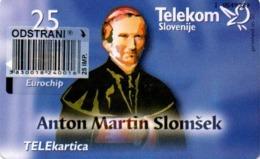 Slovenia, Slovenija, Slowenien, Telekom Slovenije - TS253. Very Rare Phonecard - Pope. Only 1,995 Pieces Issued. - Slowenien