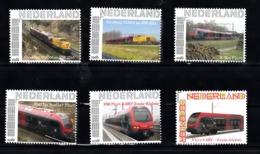 Trein, Train, Locomotive, Eisenbahn Nederland  Persoonlijke Zegel : 2x Strukton + 4x Flirt - Treni