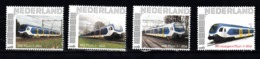 Trein, Train, Locomotive, Eisenbahn Nederland  Persoonlijke Zegel :  NSR Flirt 3  4x - Treni